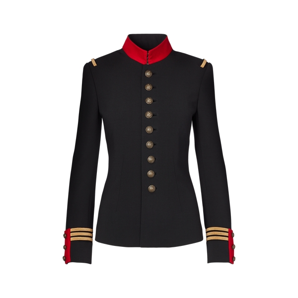 Ralph Lauren The Officer's Jacket Black 4