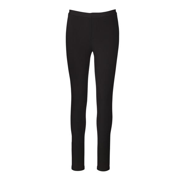Ralph Lauren Skinny Stretch Jersey Pant Black Xs
