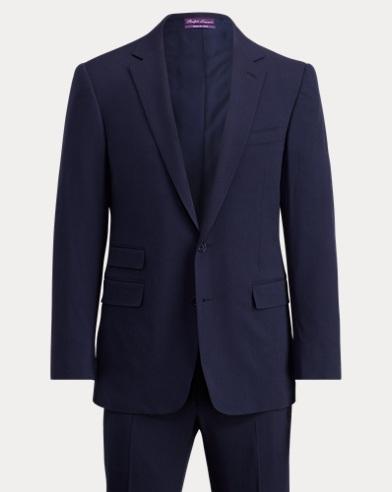 Handmade Wool Gabardine Suit
