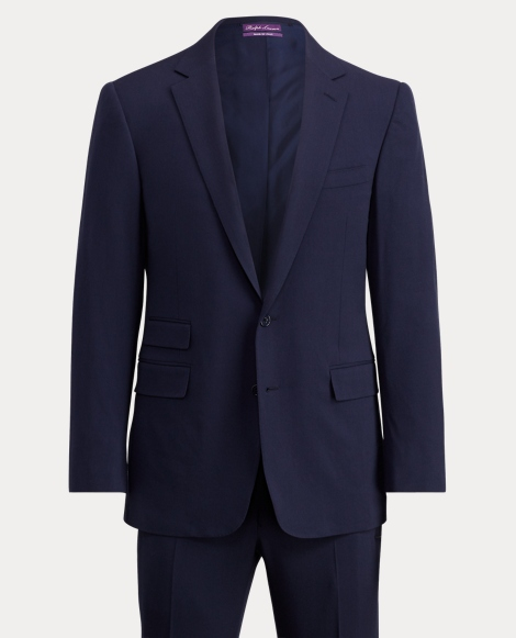 Slim Fit Wool Gabardine Suit
