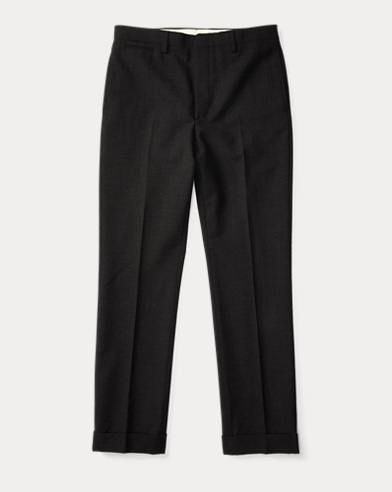 Slim Fit Merino Wool Trouser
