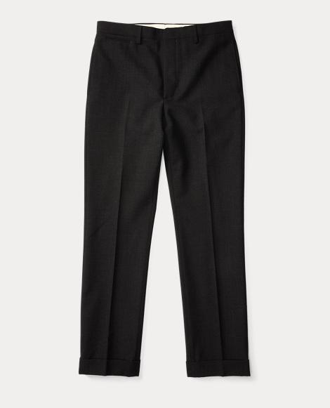 Slim Fit Merino Wool Trouser
