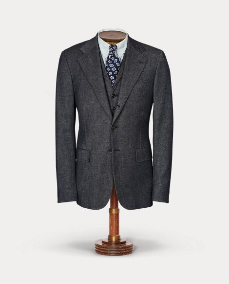 Merino-Blend Suit Jacket