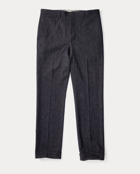 Slim Fit Merino-Blend Trouser