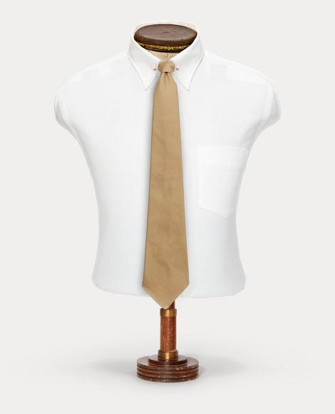 Handmade Cotton Chino Tie