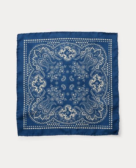 Bandanna Silk Pocket Square