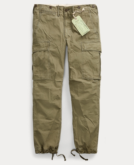 Cotton Poplin Cargo Pant