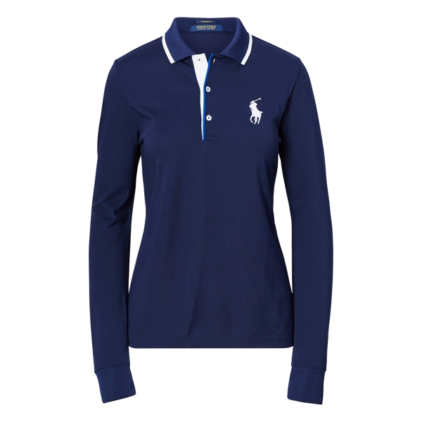 Ralph Lauren Tailored Fit Golf Polo Shirt French Navy Xxs