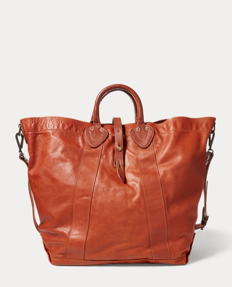 Tumbled Leather Tote