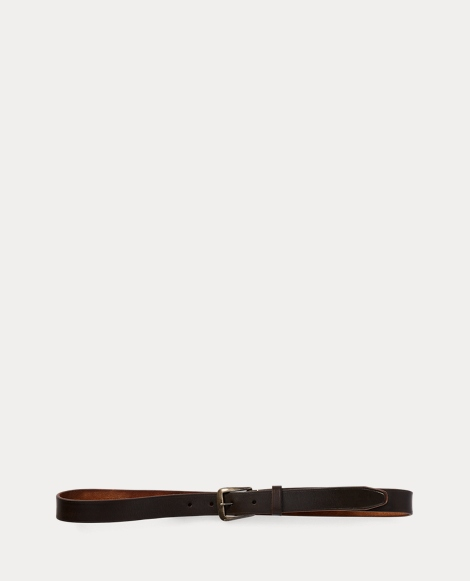 Tumbled Leather Belt