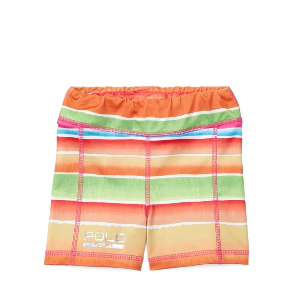 Ralph Lauren Stretch Jersey Short Pink/Orange Multi 2T