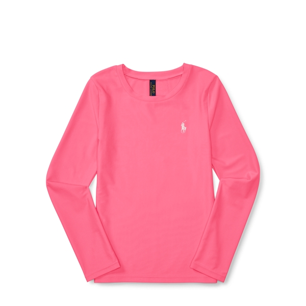 Ralph Lauren Long-Sleeve Rash Guard Wild Rose S