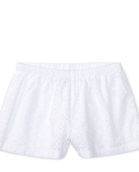 Cotton Eyelet Short