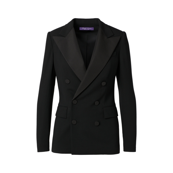 Ralph Lauren The Stretch Wool Tuxedo Black 6