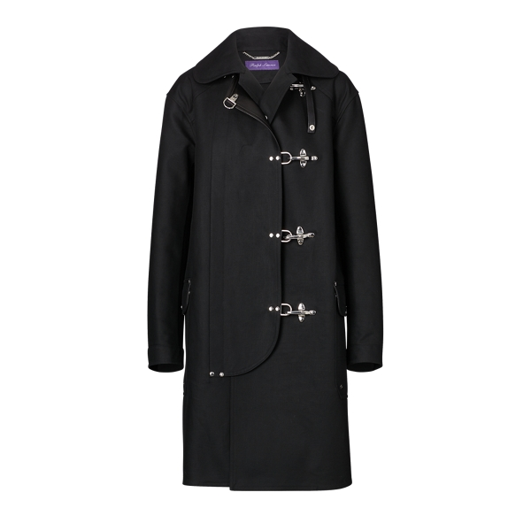 Ralph Lauren The Fireman's Coat Black 2