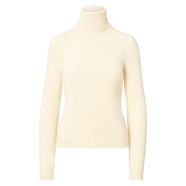 Ralph Lauren Cashmere Turtleneck Cream S