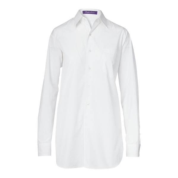 Ralph Lauren Cotton Broadcloth Shirt White 8