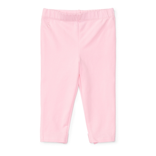 Ralph Lauren Bow-Back Jersey Legging Carmel Pink 3M