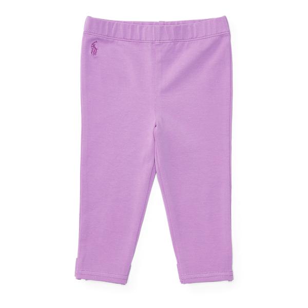 Ralph Lauren Bow-Back Jersey Legging New Hibiscus 3M