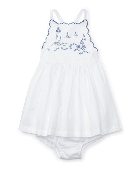 Twill Sundress & Bloomer