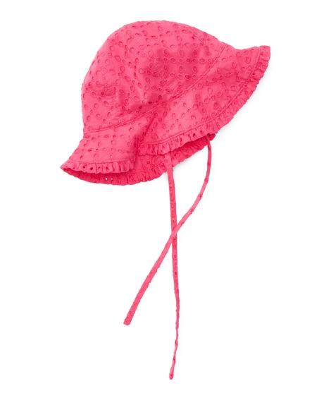 Eyelet Cotton Sun Hat