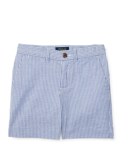 Slim Fit Stretch Cotton Short