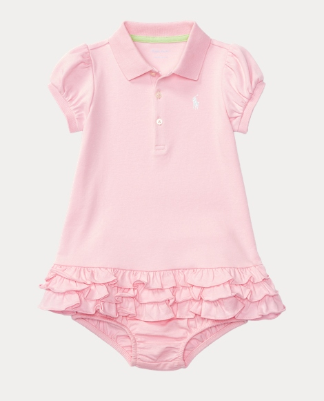 Baby Polo Dress & Bloomer