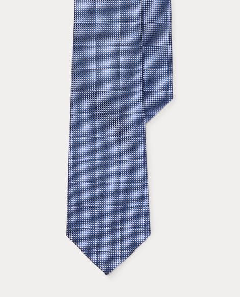 Woven Silk Narrow Tie