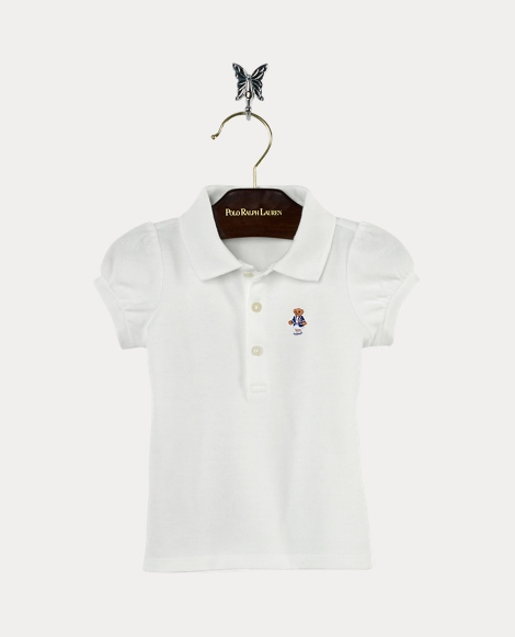 Baby Girl Polo Bear Shirt