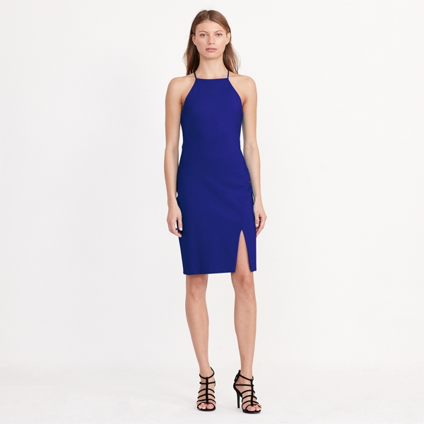 Ralph Lauren Sleeveless Jersey Dress Cannes Blue 14