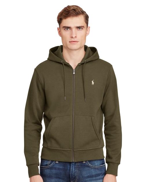 produt-image-2.0. produt-image-3.0. produt-image-4.0. Men Clothing  Sweatshirts & Sweatpants Sweatshirts Double-Knit Full-Zip Hoodie. Polo Ralph  Lauren