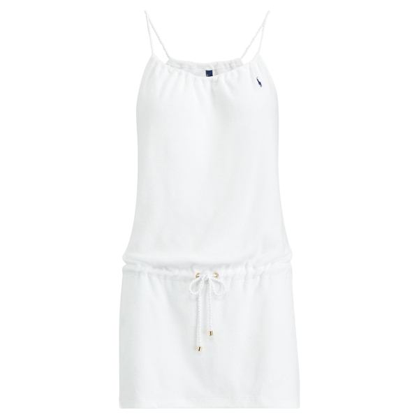 Ralph Lauren French Terry Cover-Up White Xs