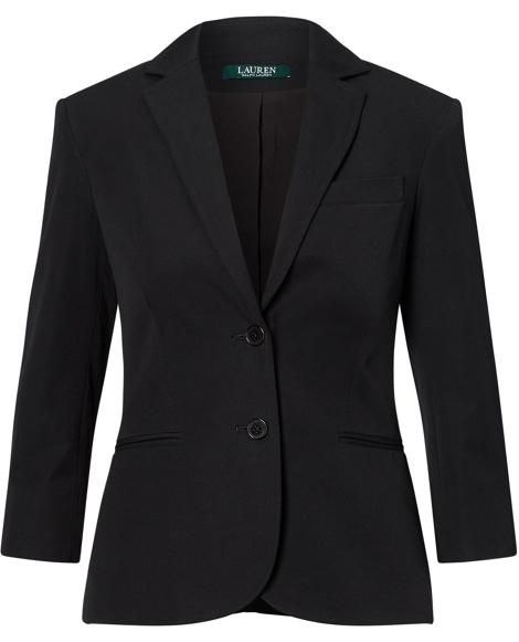 Twill 2-Button Jacket