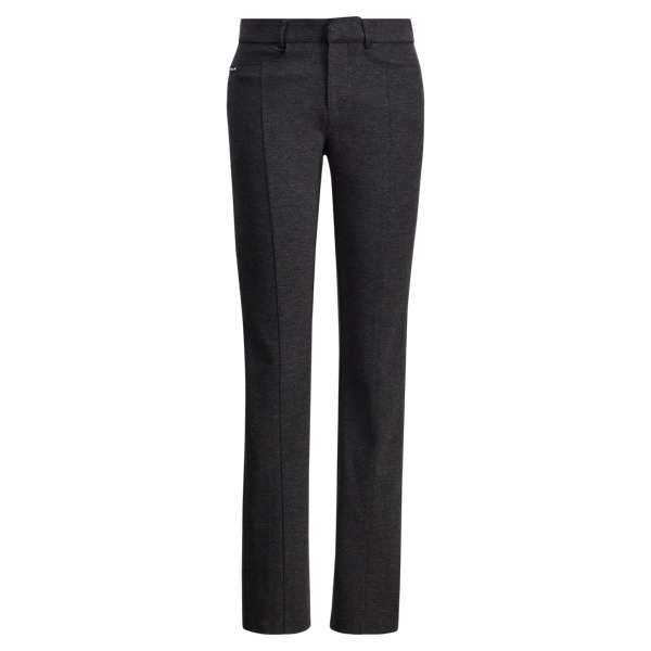 Ralph Lauren Cotton-Blend Straight Pant Heather 2