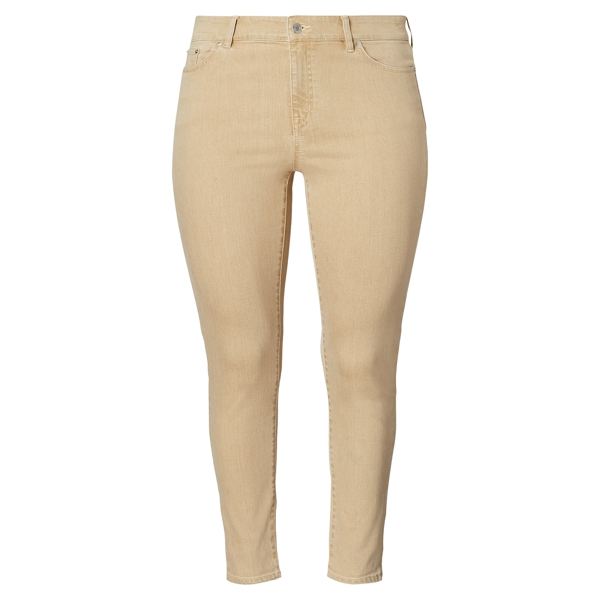 Ralph Lauren Premier Skinny Ankle Jean Light Almond 14