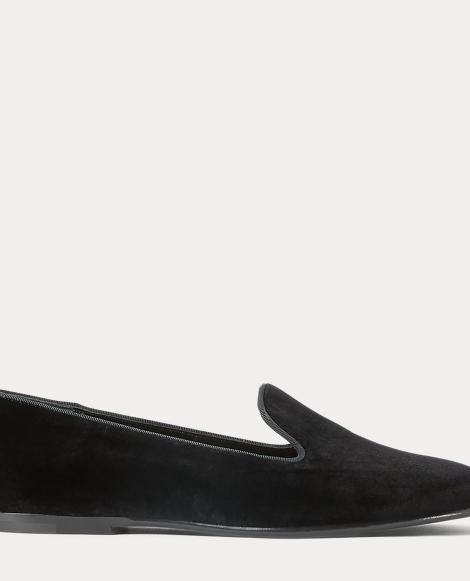Oliviera Velvet Flat