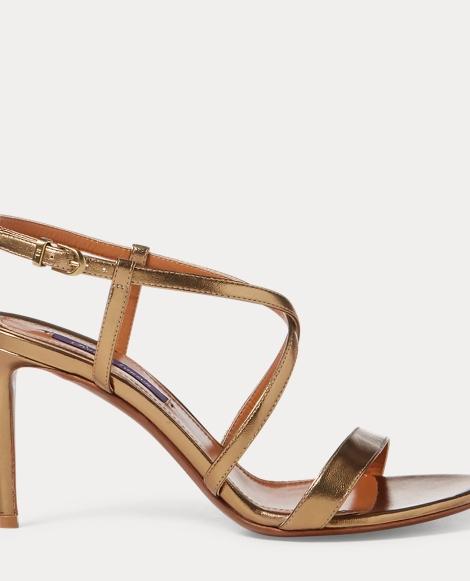 Arissa Metallic Nappa Sandal