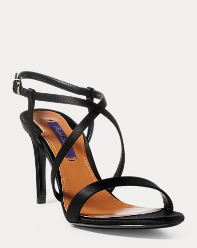 Arissa Satin Sandal