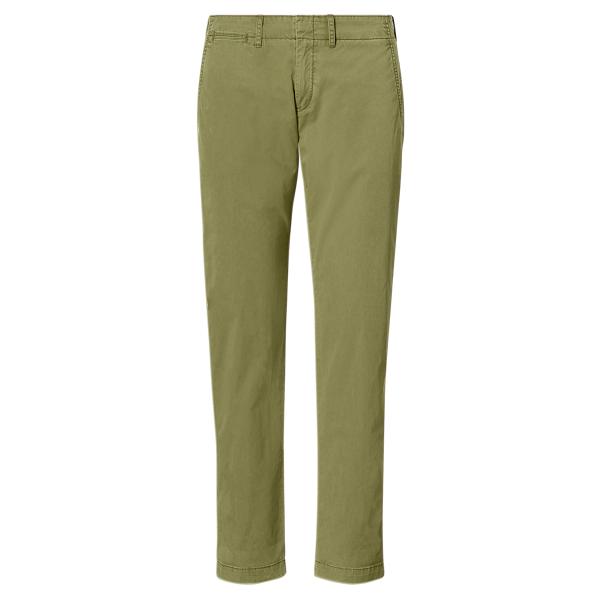 Ralph Lauren Cotton Boyfriend Pant Olive 2