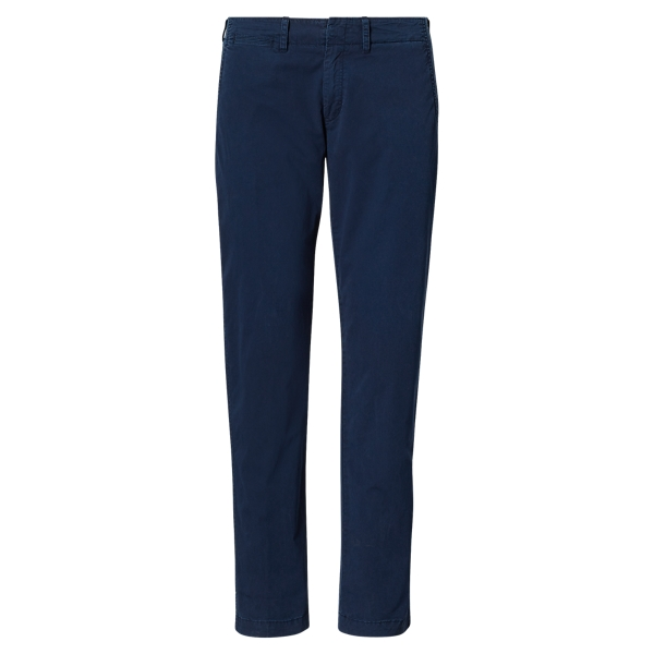 Ralph Lauren Cotton Boyfriend Pant Navy 2