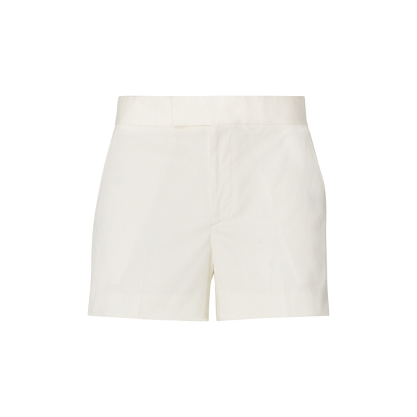 Ralph Lauren Tailored Cotton Twill Short Deckwash White 6