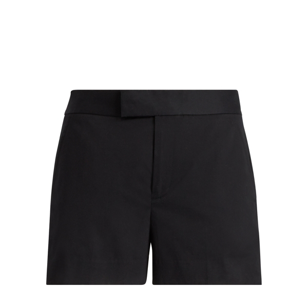 Ralph Lauren Tailored Cotton Twill Short Black 8
