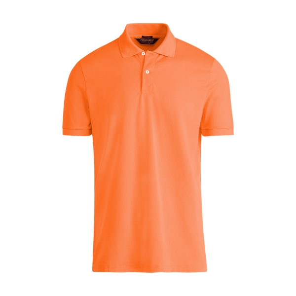 Ralph Lauren Custom Fit Performance Polo Blaze Orange Flash M