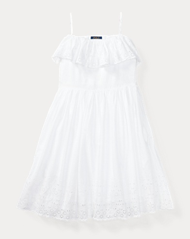 Ruffled Off-the-Shoulder Dress
