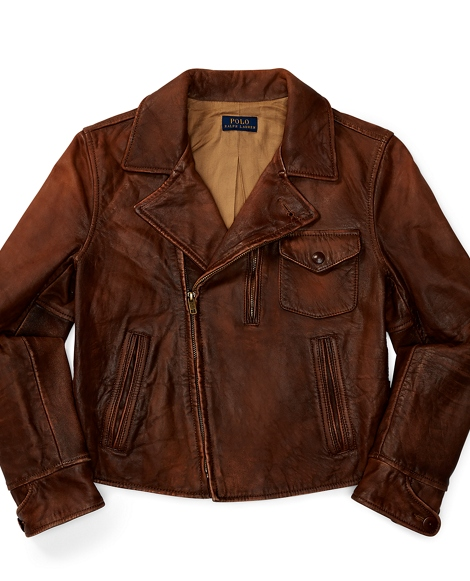 Newsboy Leather Jacket