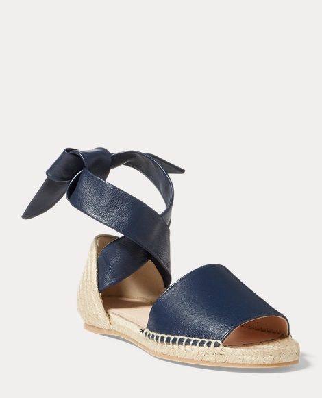 Joni Napa Leather Espadrille