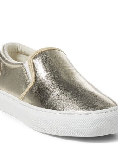 Carlee Metallic Sneaker