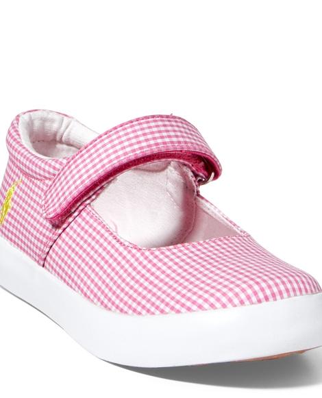 Gingham Canvas Sneaker