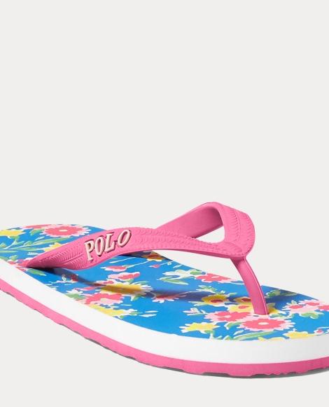 Hailey Floral Flip-Flop