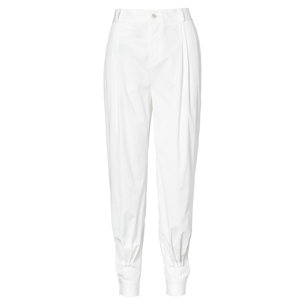 Ralph Lauren High-Rise Tapered-Leg Pant Pure White 8